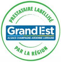 Prestataire labellisé par la Région Grand Est